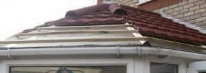 Broken Conservatory Roof