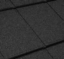 Esprit Shingle Coal Black Conservatory Tile