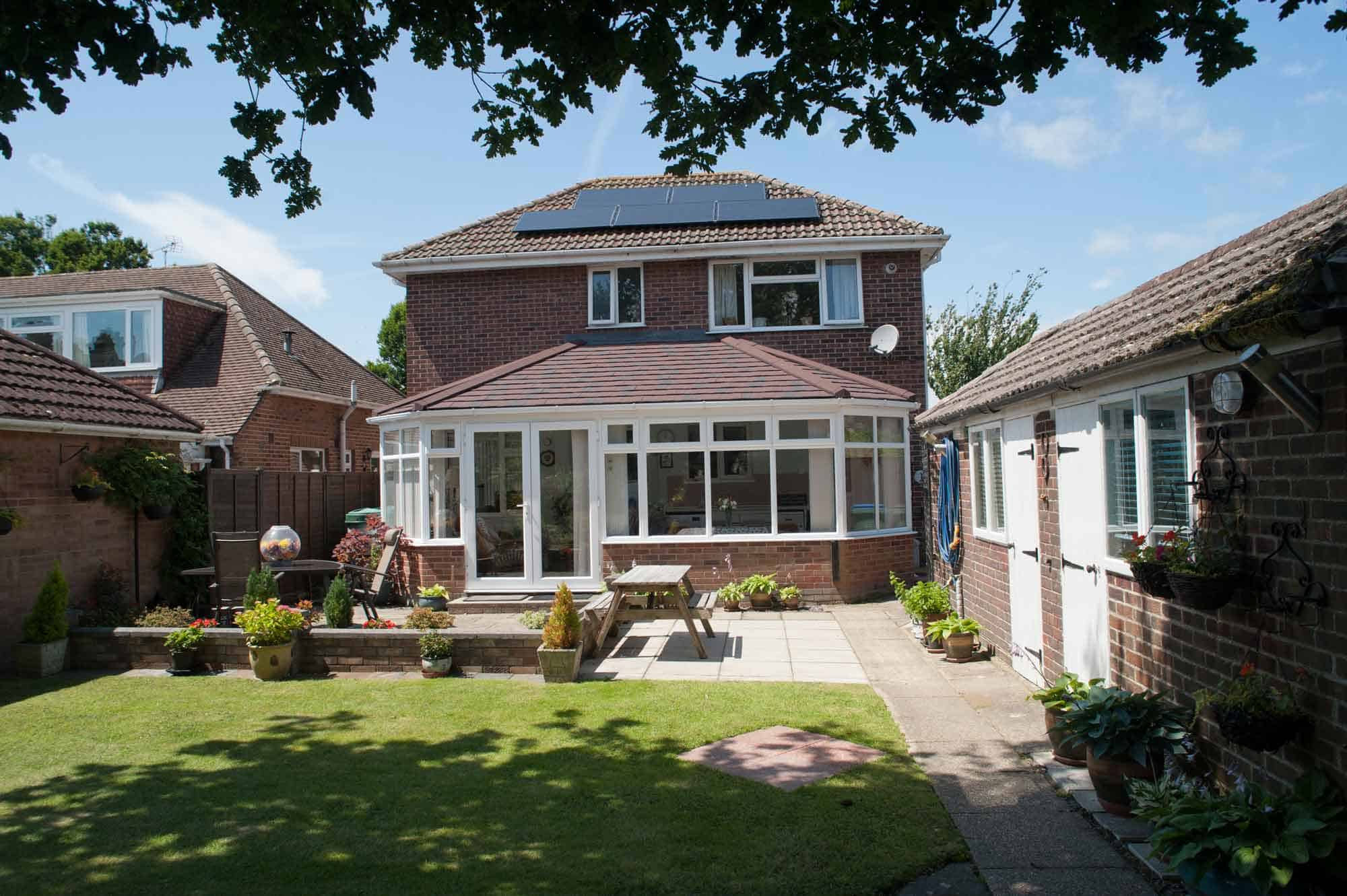 Replacement Tiled Conservatory Roofs UK