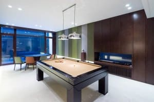 Convert conservatory into a games den