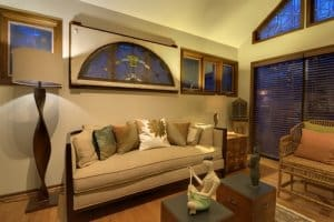 Convert conservatory into a home den