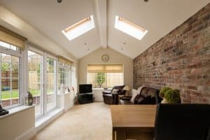 Convert conservatory into a sunroom