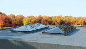 sustainable aluminium roof lantern