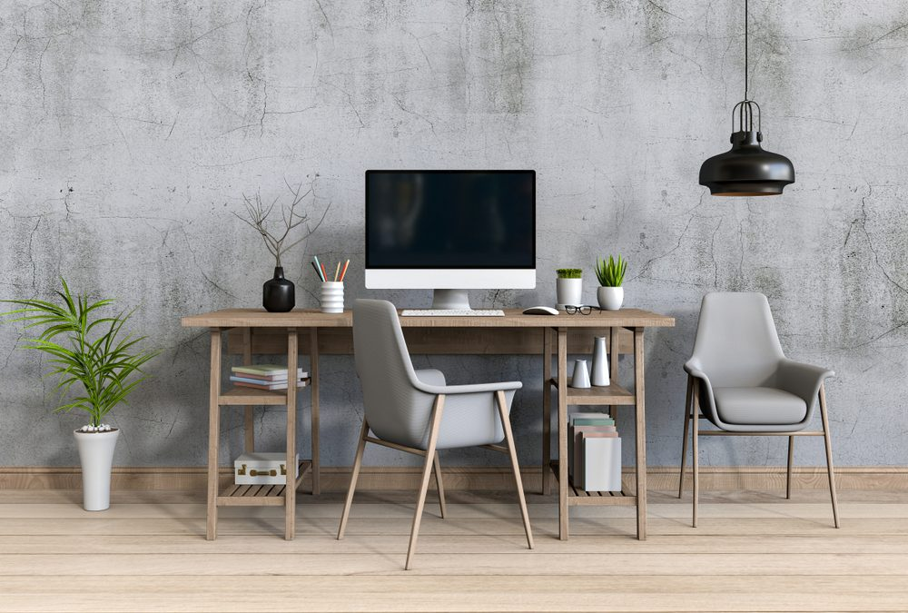 Creating a Home Office Space With an Extension